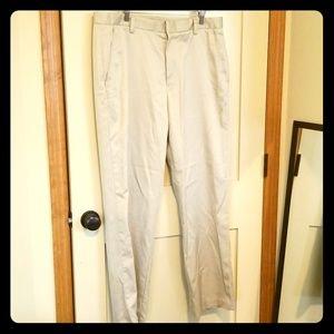 Men's 36W 32L Ashworth Khaki Pants